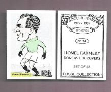 Doncaster Rovers Lionel Farmery 14 (FC)